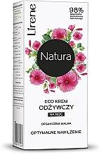 Kup ECO krem odżywczy do twarzy na noc Optymalne nawilżenie Organiczna malwa - Lirene Natura