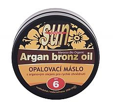 Kup Olejek do opalania SPF 6 - Vivaco Sun Argan Bronz Oil SPF 6