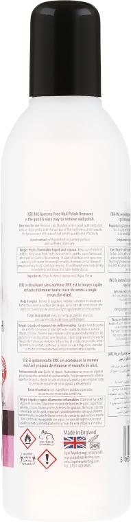 Bezacetonowy zmywacz do paznokci - Xpel Marketing Ltd Xnc Nail Polish Remover Acetone Free — фото N2