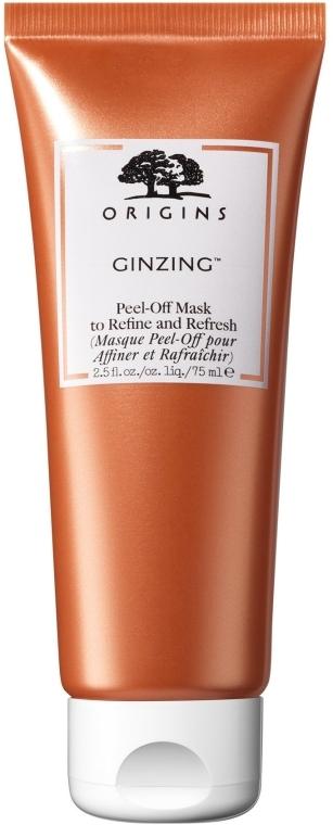 Oczyszczająca maska do twarzy - Origins GinZing Peel-Off Mask To Refine And Refresh — фото N1