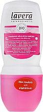 Kup Hipoalergiczny dezodorant w kulce Róża - Lavera 24h Deo Roll-On
