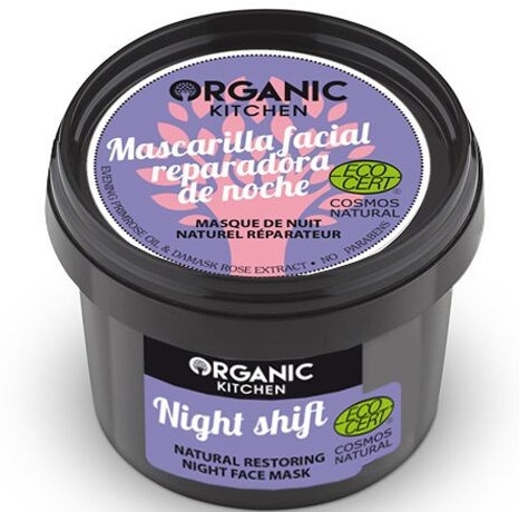 Naturalna regeneracyjna maska do twarzy Nocna zmiana - Organic Shop Organic Kitchen Night Shift Natural Restoring Night Face Mask — фото N1