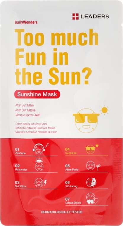 Wzmacniająca maseczka do twarzy - Leaders Daily Sunshine Mask — фото N1