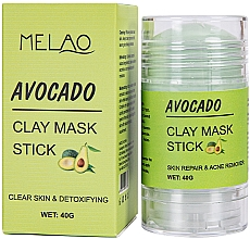 Kup Glinkowa maska w sztyfcie do twarzy Awokado - Melao Avocado Clay Mask Stick