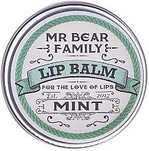 Kup Nawilżająco-ochronny balsam do ust dla mężczyzn Mięta - Mr. Bear Family Lip Balm Mint
