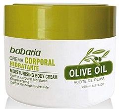 Kup Nawilżający krem do ciała z oliwą - Babaria Fragrances Moisturising Body Cream With Olive Oil