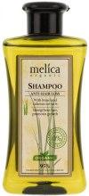 Kup Szampon z ekstraktem z żyta i tataraku przeciw wypadaniu włosów - Melica Organic Anti-hair Loss Shampoo