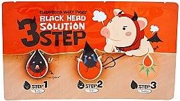 Kup 3-etapowy zabieg usuwania wągrów - Elizavecca Milky Piggy Black Head Solution 3 Step