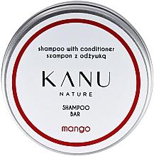 Kup PRZECENA! Szampon do włosów 2 w 1, w metalowym opakowaniu - Kanu Nature Shampoo With Conditioner Shampoo Bar Mango *