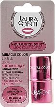 Kup Lekko koloryzujący żel do ust - Laura Conti Miracle Color Lip Gel