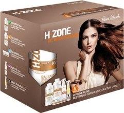 Kup Regenerujący zestaw do włosów - H.Zone (shm/500/ml + lot/500/ml + spray/250/ml + serum/150/ml + towel)