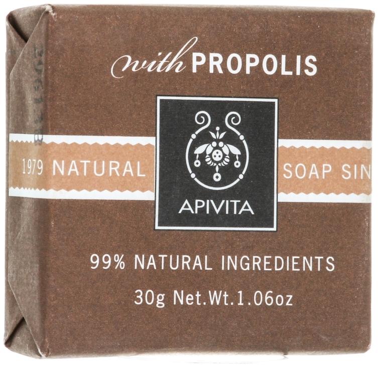 Naturalne mydło w kostce Propolis - Apivita Natural Soap with Propolis — фото N3