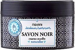 Kup Naturalne czarne mydło - Mohani Arabian Hammam Savon Noir