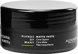 Kup Matowa pasta do włosów o średniej trwałości dla mężczyzn - Alfaparf Milano Blends Of Many Matte Paste