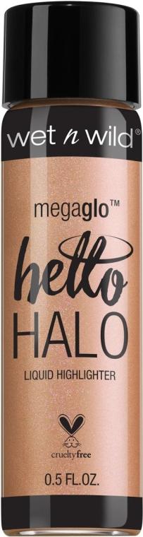 Rozświetlacz w płynie do twarzy - Wet N Wild MegaGlo Hello Halo Liquid Highlighter