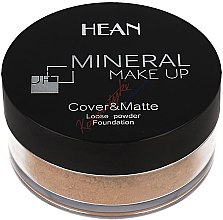 Kup Mineralny podkład w pudrze - Hean Mineral Make Up Cover&Matte Loose Mineral Powder