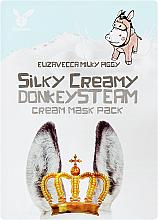 Kup Maska w płachcie z kremem parowym - Elizavecca Silky Creamy donkey Steam Cream Mask