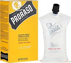 Kup Krem do golenia - Proraso Wood and Spice Shaving Cream