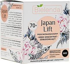 Kup Przeciwzmarszczkowy krem-koncentrat do twarzy odbudowujący na noc 70+ - Bielenda Japan Lift