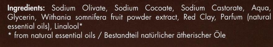 Naturalne mydło odmładzające skórę Indyjski żeń-szeń - Apeiron Ashwaganda Plant Oil Soap  — фото N4