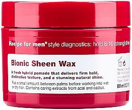 Kup Nabłyszczający wosk do włosów dla mężczyzn - Recipe for Men Bionic Sheen Wax