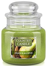 Kup Świeca zapachowa w słoiku - Country Candle Anjou & Allspice