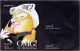 Kup Trzyetapowy program pielęgnacyjny na twarz - Double Dare OMG! 3in1 Kit Peel Off Mask