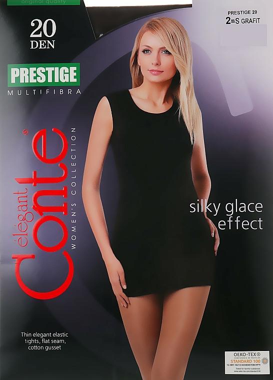 "Rajstopy ""Prestige"" 20 DEN, grafit - Conte — фото N1"