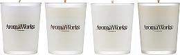 Kup Zestaw - AromaWorks Signature Range Candle Boxed Set (candles 4 x 75 g)