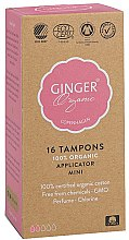 Kup Organiczne tampony z aplikatorem Mini, 16 szt. - Ginger Organic