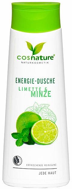 Orzeźwiający żel pod prysznic limonka i mięta - Cosnature Shower Gel Energy Mint & Lime — фото N1