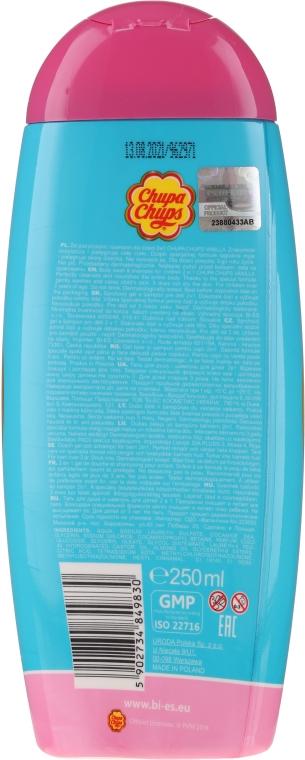 Żel do mycia ciała i szampon do włosów 2 w 1 Ciasteczko waniliowe - Bi-es Chupa Chups Cookie Vanilla — фото N2