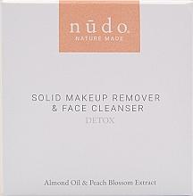 Kup Kostka do demakijażu i mycia twarzy 2 w 1 - Nudo Nature Made Solid Makeup Remover & Face Cleanser Detox