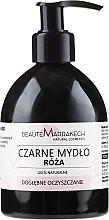 Kup Różane czarne mydło w płynie z olejem arganowym - Beauté Marrakech Rose Black Liquid Soap