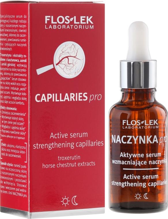 Aktywne serum wzmacniające naczynka - Floslek Naczynka Pro — фото N1