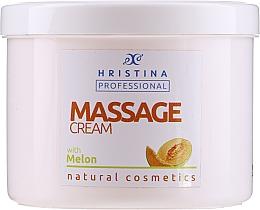 Kup Melonowy krem do masażu - Hristina Professional Massage Cream With Melon