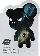 Kup Maseczka zwężająca pory w płachcie - The Oozoo Bear Black Space Pore Caring Mask