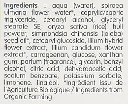 Złuszczający krem do twarzy do skóry normalnej i mieszanej z ekstraktem z lilii - Coslys Facial Care Exfoliating Facial CreamWith Lily Extract — фото N4