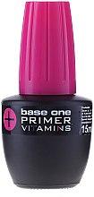 Kup Baza z witaminami poprawiająca przyleganie produktów do płytki paznokcia - Silcare Base One Primer+Vitamins