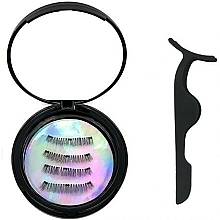 Kup Zestaw - Moon Lash Magnetic Eyelashes 001 Magnetic Moon (eyelashes/1pcs + clip)