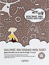 Kup Nawilżająca maska oczyszczająca pory w płachcie do twarzy - Esfolio Pure Skin Volcanic Ash Essence Mask Sheet
