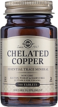 Kup Suplement diety Miedź chelatowana - Solgar Chelated Copper Essential Trace Mineral