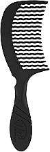 Kup Grzebień do włosów, czarny - Wet Brush Pro Detangling Comb Black