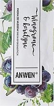 Kup Maska do włosów średnioporowatych Winogrona i keratyna - Anwen (próbka)