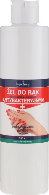 Antybakteryjny żel do rąk z witaminą E - Simple Beauty — фото N2