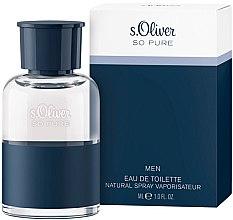 Kup S. Oliver So Pure Men - Woda toaletowa dla mężczyzn