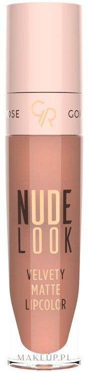 Golden Rose Nude Look Velvety Matte Lipcolor - Matowa