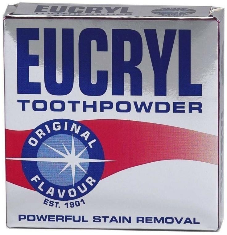 Wybielający puder do zębów - Eucryl Toothpowder Original Flavour