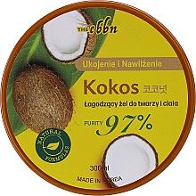 Kup Łagodzący żel do twarzy i ciała Kokos - The Ebbn Soothing Face & Body Gel Coconut 97%