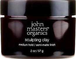 Kup Modelująca glinka do włosów z efektem matującym - John Masters Organics Sculpting Clay Medium Hold Matte Finish